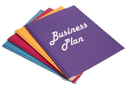 What contains a business plan